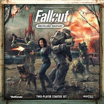 """Настольная игра с миниатюрами """"Fallout. Война в Пустоши"""""""