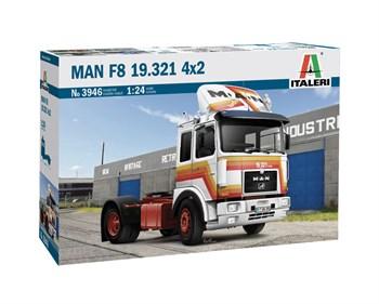 Сборная модель Man F8 19.321 4x2 (1:24) ITALERI S.p.A.