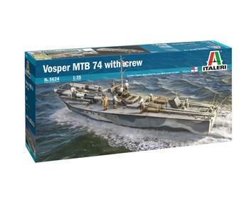 Vosper Mtb 74 With Crew (1:35)