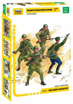 Пехота Красной Армии N1 с экслюзивной фигурой