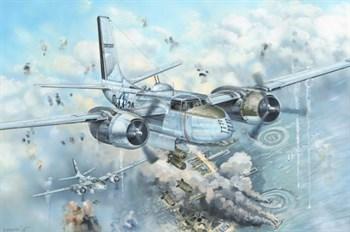 Сборная модель A-26b Invader  (1:32) Hobby Boss