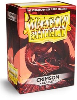 Dragon Shield - Багровые матовые протекторы 100 ук