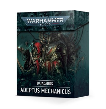 Datacards: Adeptus Mechanicus (eng) Warhammer 40000