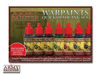 Warpaints Quickshade Ink Set (5)