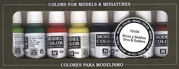 Game Color Orcs & Goblins (8) 17 ml.