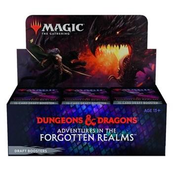Дисплей бустеров Adventures in the Forgotten Realms (анг.)