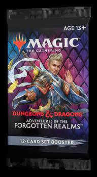 Сет бустер Adventures in the Forgotten Realms (анг.)