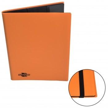 Альбом Blackfire c 20 встроенными листами 3х3 - Flexible Orange