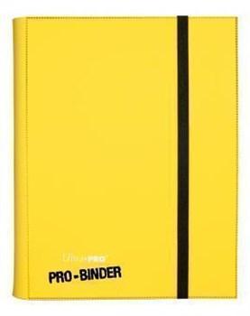 Альбом Ultra-Pro Pro-Binder c 20 встроенными листами 3х3 - Желтый