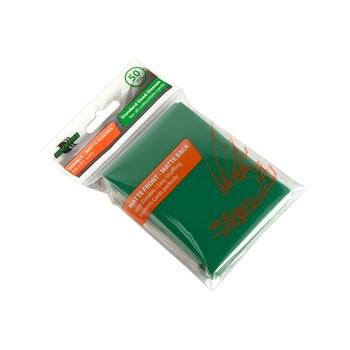 Протекторы Blackfire Double-Matte для ККИ - Зелёные (50 шт.)