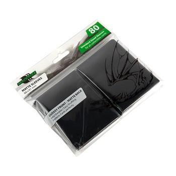 Протекторы Blackfire для ККИ - Черные (80 шт.)