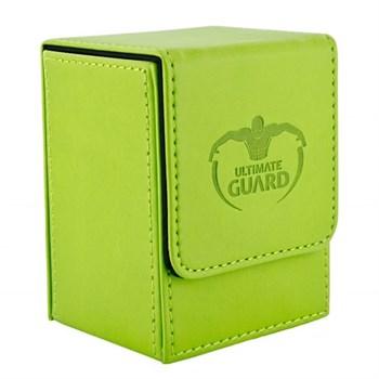 Flip Deck Case 80+ Standard Size Green
