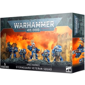 Space Marines Sternguard Veteran Squad Warhammer 40000