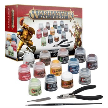 Aos Paints + Tools Set Age of Sigmar