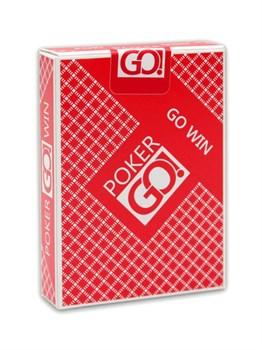 "Карты ""PokerGo"" красные, jumbo index"