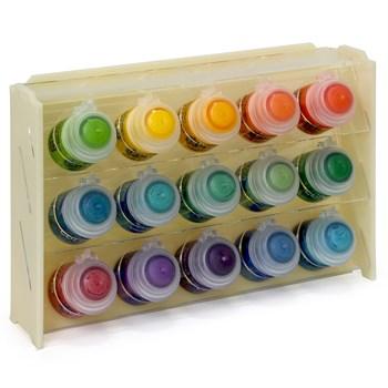 Подставка пластиковая бежевая для красок 15 баночек Mk-1 (Citadel)