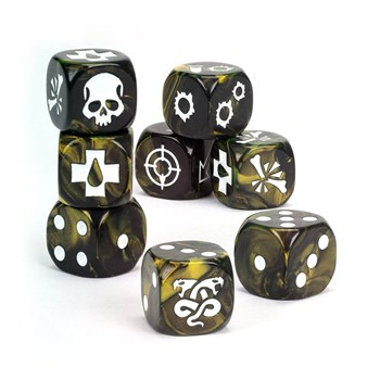 House Of Shadow Dice Set Warhammer 40000