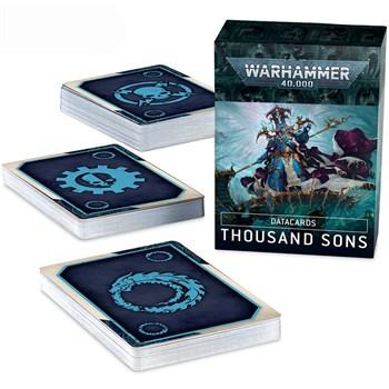 Datacards: Thousand Sons (English) Warhammer 40000