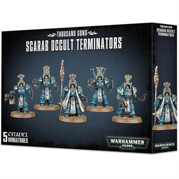 Thousand Sons Scarab Occult Terminators Warhammer 40000
