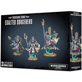 Thousand Sons Exalted Sorcerers Warhammer 40000