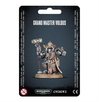 Grey Knights Grand Master Voldus Warhammer 40000