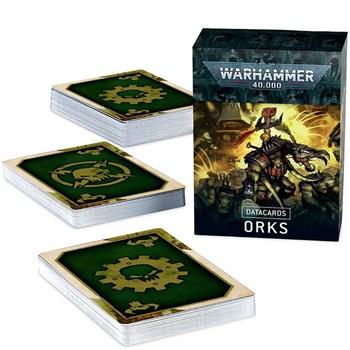 Datacards: Orks (English) Warhammer 40000