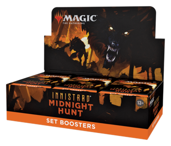 Innistrad: Midnight Hunt Set Booster EN Дисплей