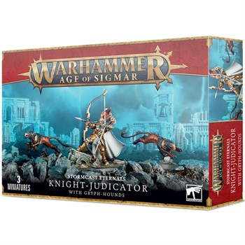 Stormcast eternals: Knight-judicator with gryph-hounds Age of Sigmar