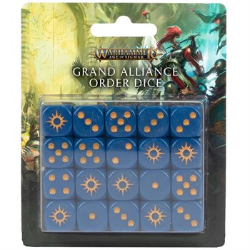 Age of Sigmar: Grand alliance order dice set