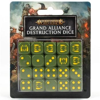 Age of Sigmar: Grand alliance destruction dice set