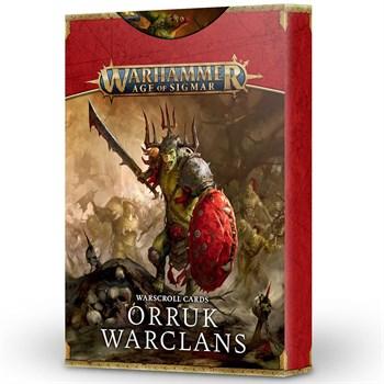 Warscroll cards:  Orruk warclans (eng) Age of Sigmar