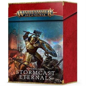 Warscroll cards: Stormcast eternals eng Age of Sigmar