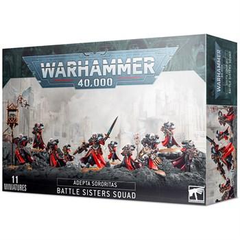 Adepta sororitas: Battle sisters squad Warhammer 40000