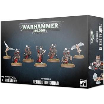 Adepta sororitas Retributor squad Warhammer 40000