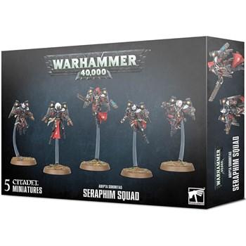 Adepta sororitas: Seraphim squad Warhammer 40000