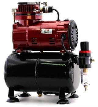 Компрессор JAS 1223, с регулятором давления, автоматика, ресивер