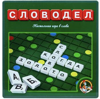 Настольная игра Словодел (пластм.)