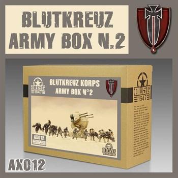 Blutkreuz Army Box N.2 (собранная модель)