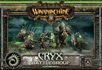 Cryx MKII Battlegroup Box (5 Plastic Models) Starter BOX