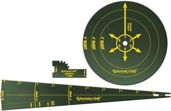WARMACHINE Mk II Template Set