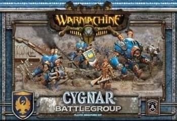 Cygnar  MKII  Battlegroup  Box  (4  Plastic  Models)  BOX