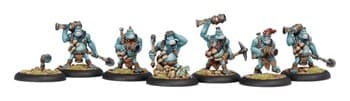 Trollblood Pyg Burrowers Unit BOX*
