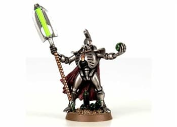 Necron Lord With Resurrection Ord
