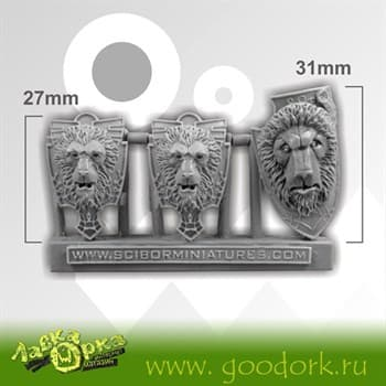 Lion Shields (3)