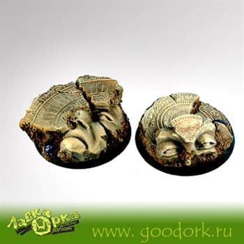 Egyptian Ruins 40 mm round bases set2 (2)