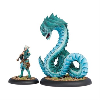 Minion Lesser Warlock Dahlia Hallyr & Skarath Warbeast BOX
