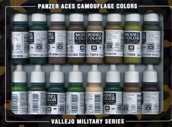 Panzer Aces Camouflage 17ml.