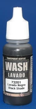 Black Wash 17 ml.