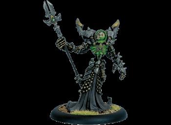 Cryx Warcaster,  Iron Lich Asphyxious BLI*