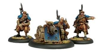 Cygnar Trencher Cannon Crew BLI
